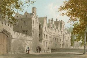 St. John's College - Oxford by English School