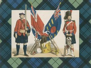 The 'Black Watch,' or Forty-Second Royal Highlanders by English School