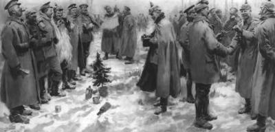 The Christmas Day Truce of 1914, Published 1915 by English School