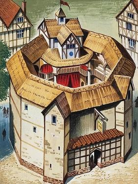 The Globe Theatre by English School