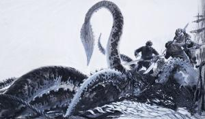 The Kraken, 1972 by English School
