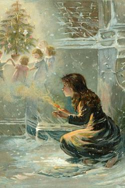 The Little Match Girl by English School