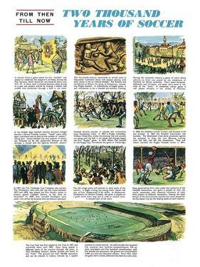 Two Thousand Years of Soccer by English School