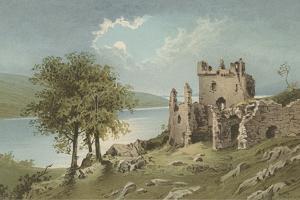 Urquhart Castle - Loch Ness by English School