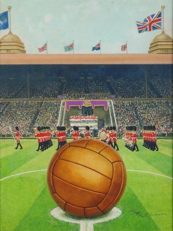 Wembley Stadium on Big Match Day