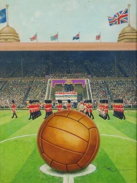 Wembley Stadium on Big Match Day by English School