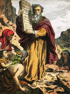 Ten Commandments by English