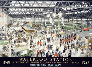 English Waterloo Railway, c.1948