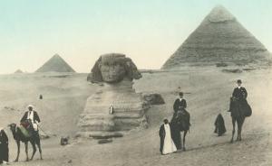 Englishmen Visiting Pyramids