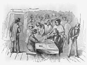 Engraving Gambling in Frisco