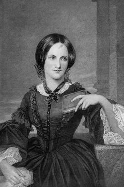 Engraving of Charlotte Bronte