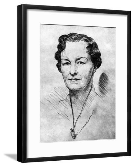 Enid Bagnold--Framed Giclee Print