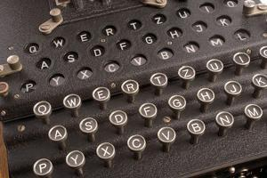 Enigma, the German Cipher Machine Created for Sending Messages During World War 2
