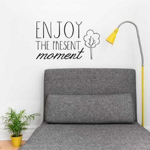 Enjoy the Present EN Wall Decal