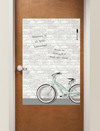 Enjoy the Ride Dry Erase Messenger Board
