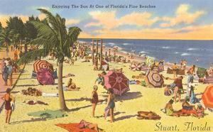 Enjoying the Sun in Stuart, Florida