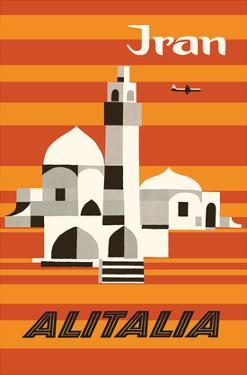 Iran - Alitalia Airlines - Middle-East by Ennio Molinari