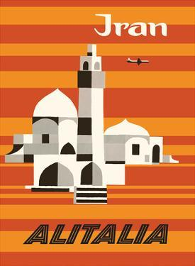 Iran - Alitalia Airlines - Middle-East by Ennio Molinari