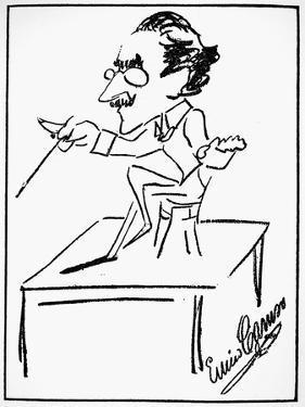 Arturo Toscanini (1867-1957) by Enrico Caruso