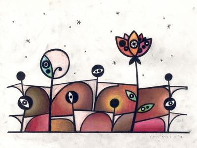 People and Flower