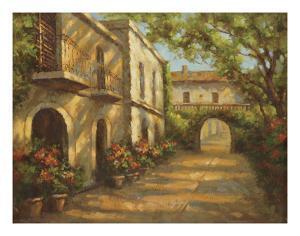 Arched Passageway by Enrique Bolo