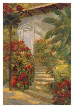 Bougainvillea Entry by Enrique Bolo