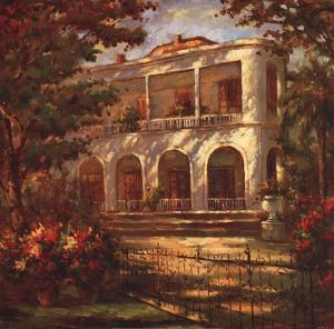 Portico at Sunset by Enrique Bolo