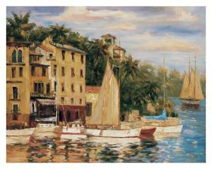 San Miguel Harbor by Enrique Bolo