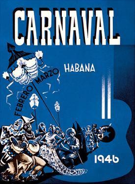 Carnaval de La Habana 1946 - Havana, Cuba - February March (Febrero Marzo) by Enrique Caravia Montenegro
