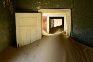 Abandoned House Full Of Sand by Enrique Lopez-Tapia