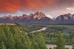 Grand Teton Np, WY by Enrique R. Aguirre Aves
