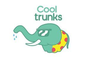 Cool Trunks by Enrique Rodriguez Jr.