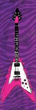 Girl Electric Guitar by Enrique Rodriguez Jr.