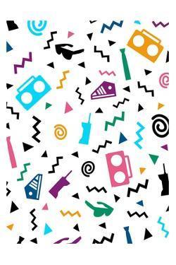 Hip Pop Pattern by Enrique Rodriguez Jr.