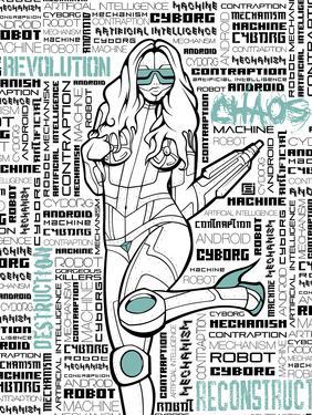 Robot Chick by Enrique Rodriguez Jr.