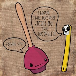 Worst Job by Enrique Rodriguez Jr.