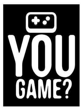 You Game Black by Enrique Rodriguez Jr.