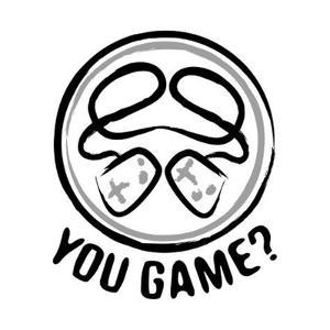 You Game Emblem by Enrique Rodriguez Jr.