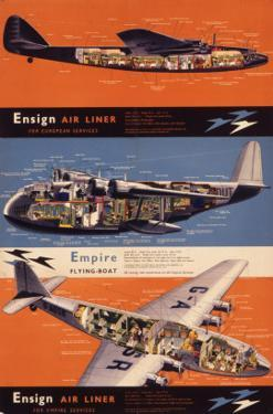 Ensign Air Liner and Empire Flying Boat