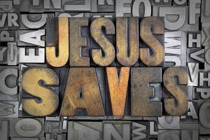 Jesus Saves by enterlinedesign