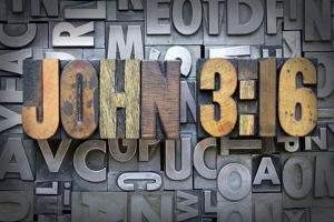 John 3:16 by enterlinedesign