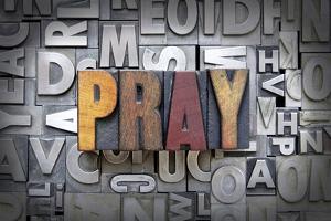 Pray by enterlinedesign