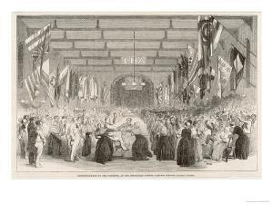Entertainment for the Patients at the Middlesex Lunatic Asylum Colney Hatch