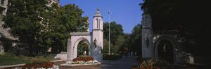 Entrance Gate of a University, Sample Gates, Indiana University, Bloomington, Indiana, USA