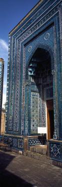 Entrance of a Mosque, Qusam Ibn Abbas Mosque, Shah-I-Zinda, Samarkand, Uzbekistan