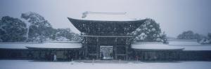 Entrance of a Temple, Tokyo Prefecture, Japan
