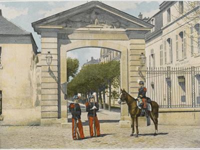 Entrance to Saint-Cyr