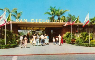 Entrance to San Diego Zoo