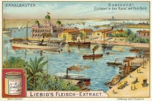 Entrance to the Suez Canal, Port Said, Egypt
