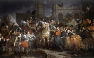 Entry of Henri IV into Paris by Francois Gerard